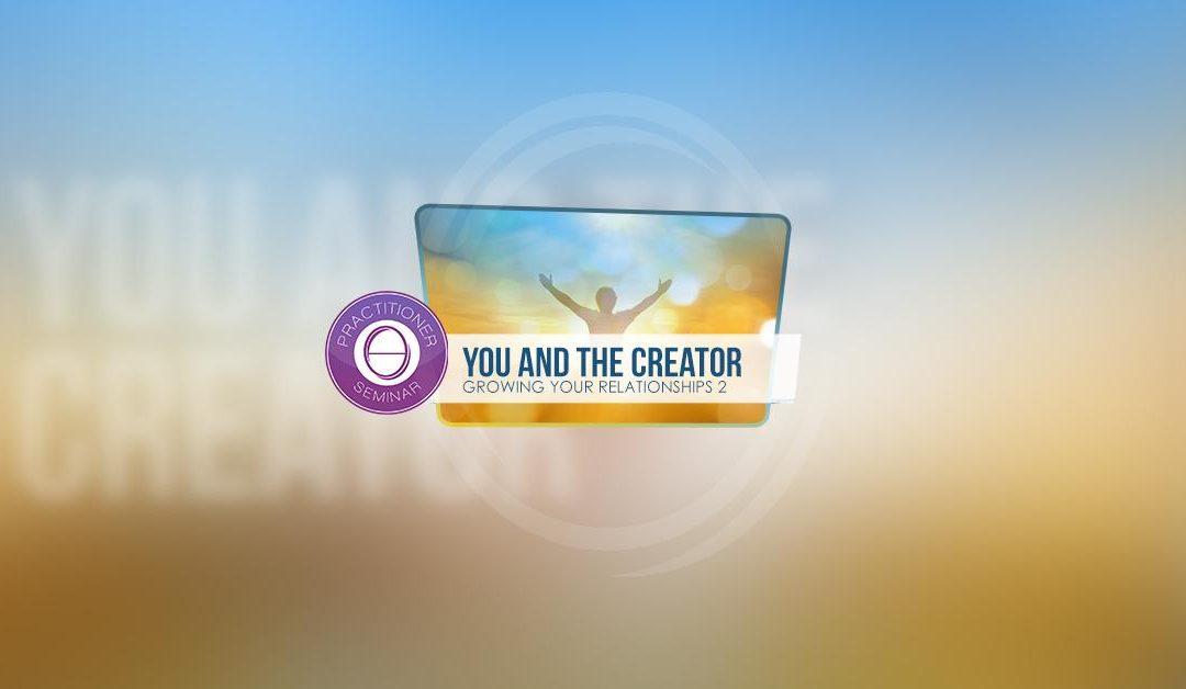 Corso Relazioni 2: TU E IL CREATORE-ONLINE